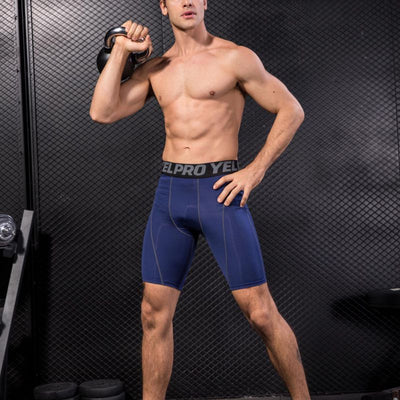 Gym Mens Sport Compression Shorts