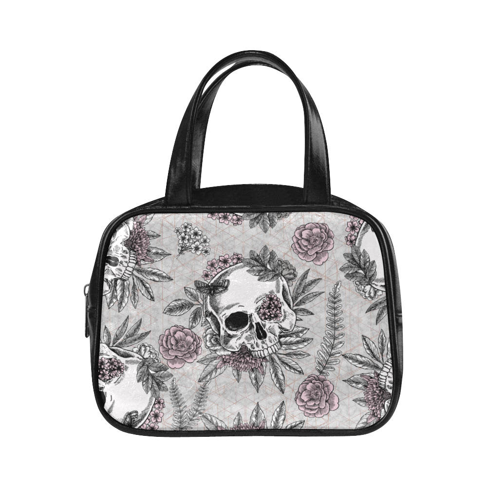 Blushing Skulls Vegan Leather Kid's Handbag
