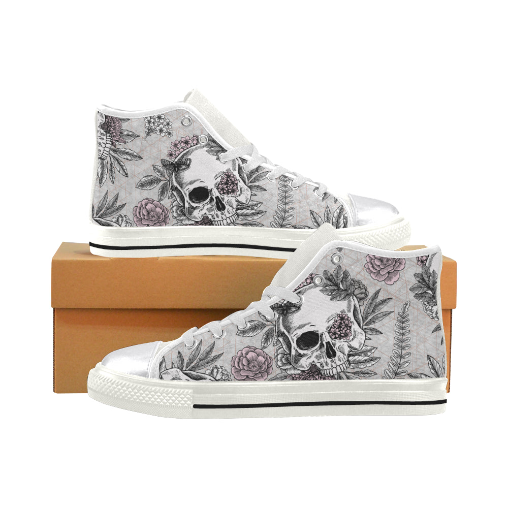 Blushing Skulls Shoes - Men's, Women's, Kid's