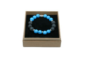 HOWLITE BLUE & LAVA STONE - Headless Nation
