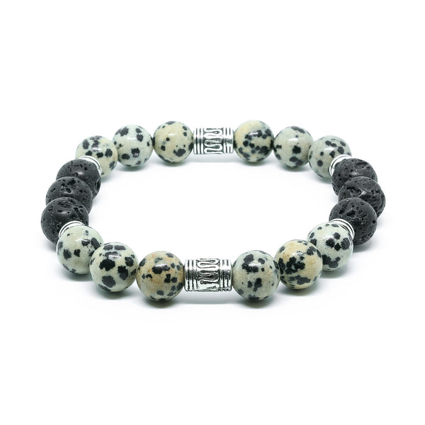 DALMATION JASPER & LAVA STONE - Headless Nation