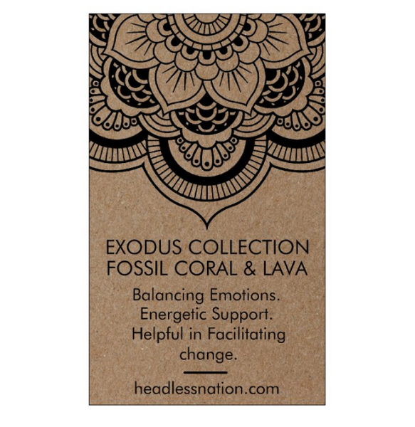 FOSSIL & LAVA STONE - Headless Nation