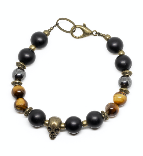 TIGER SKULL BRACELET - Headless Nation