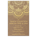 AFRICAN OPAL & LAVA STONE - Headless Nation
