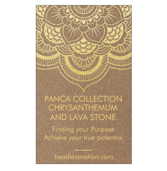 CHRYSAMTHEMUM & LAVA STONE - Headless Nation
