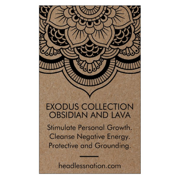 OBSIDIAN & LAVA STONE - Headless Nation
