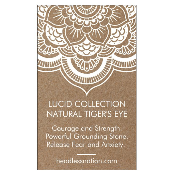 TIGERS EYE - Headless Nation