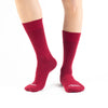 Maroon Red Basics - Talking Toes
