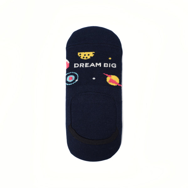 Dream Big No-show Socks