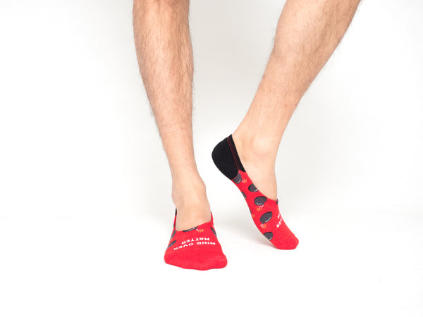 Mind Over Matter No-show Socks