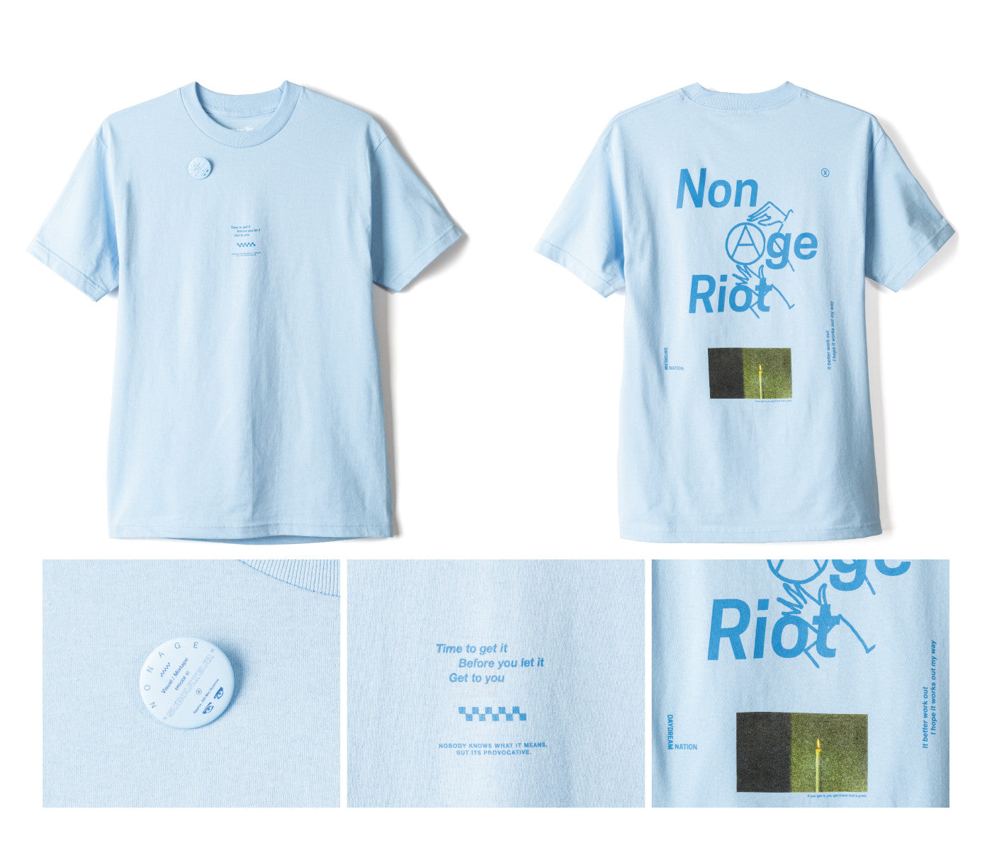 NONAGE Episode 1 'SONIC' Tee
