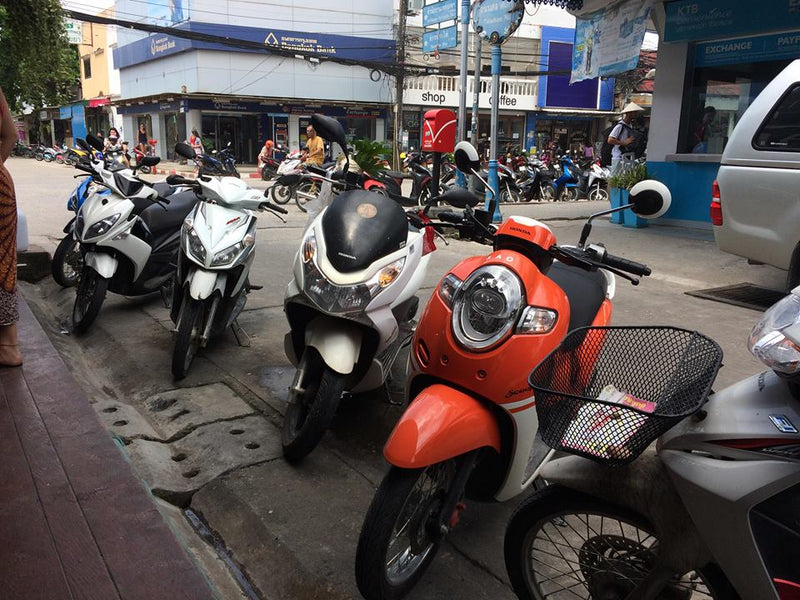 So You Want to Ride a Motorbike on Koh Phangan...
