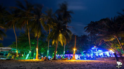 Ban Sabai after party, Koh Phangan, Thailand