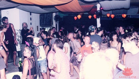 Sandcastle club party, Koh Phangan, Thailand