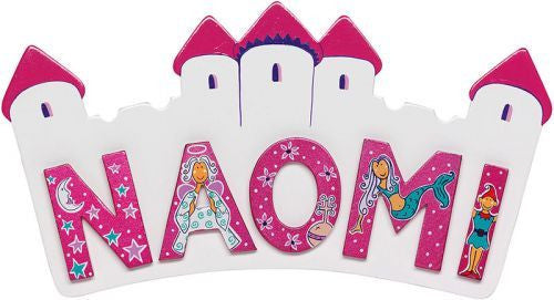 Pink wooden letters - Toy Giant