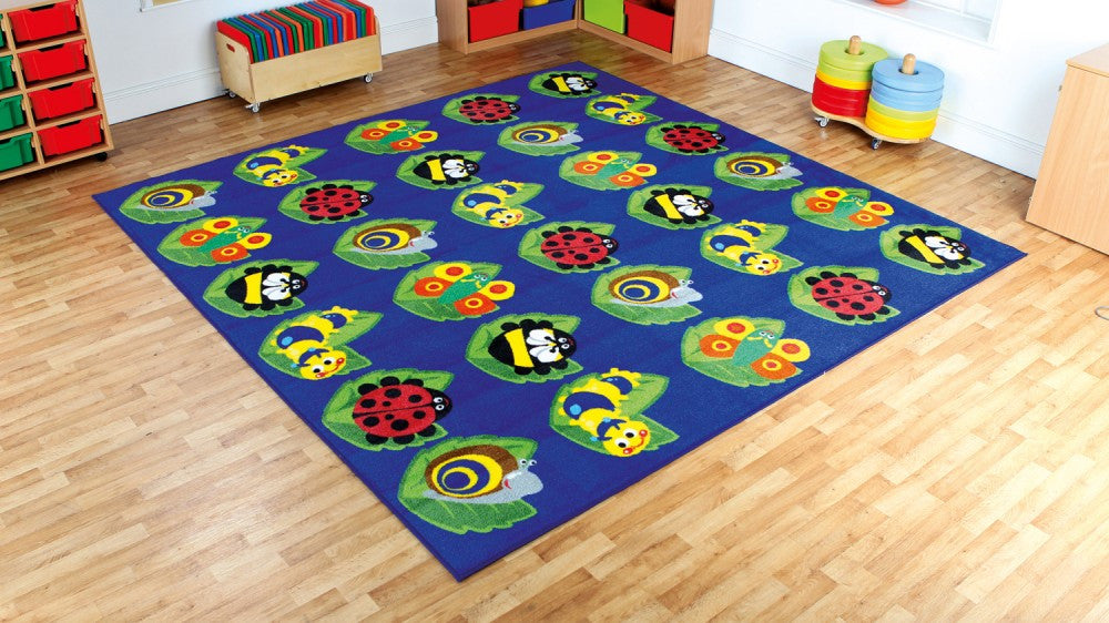 Back to Nature Bugs Large Square 3X3m - Toy Giant