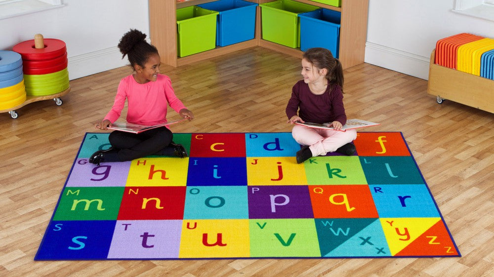 Rainbow Alphabet carpet - Toy Giant