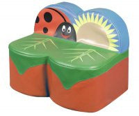 Back to Nature Ladybird 2 seat sofa - Toy Giant