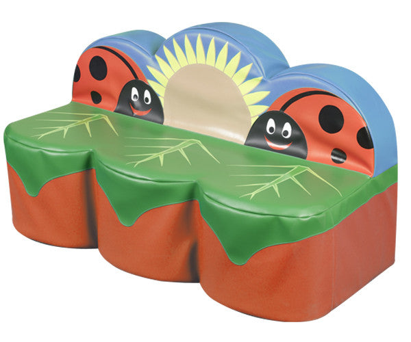Back to Nature Ladybird 3 seater - Toy Giant