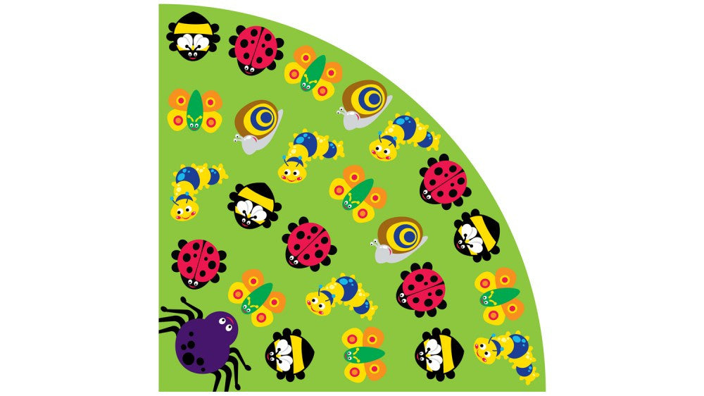 Back to Nature Large Corner Bug rug 3x3M - Toy Giant