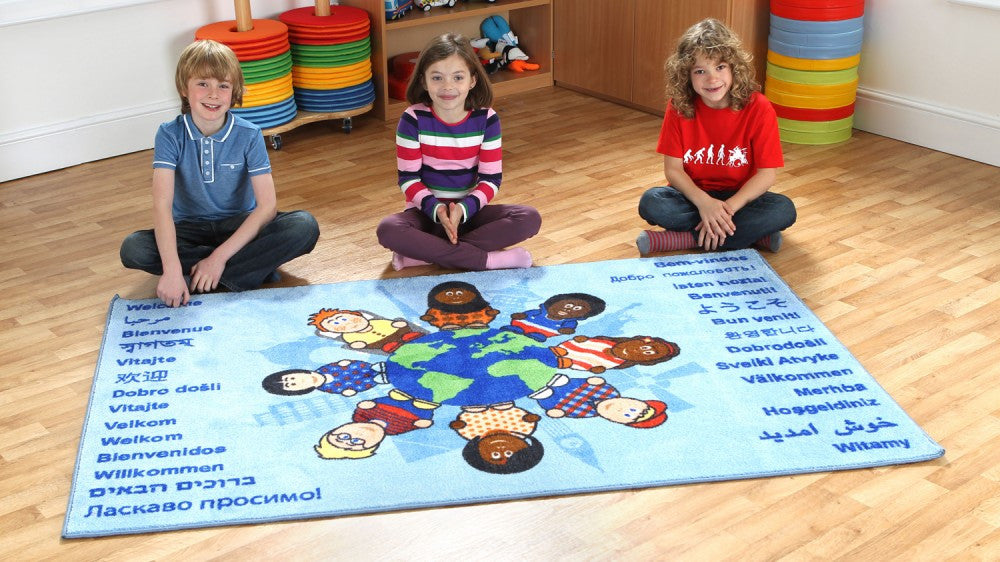 Children of the world welcome carpet - Toy Giant