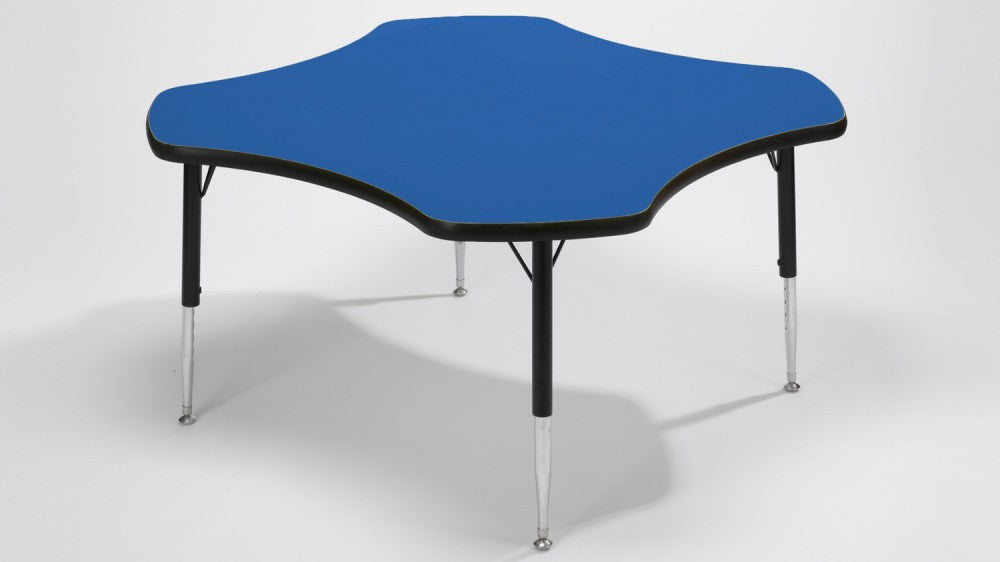 Tuf-Top Clover height adjustable table - Toy Giant