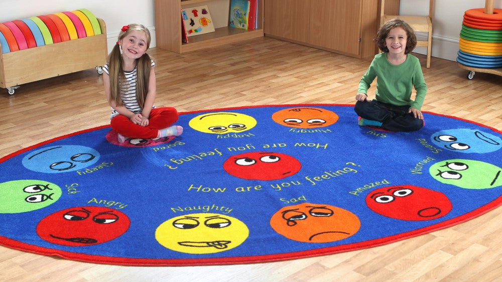 Emotions Interactive Oval carpet - Toy Giant
