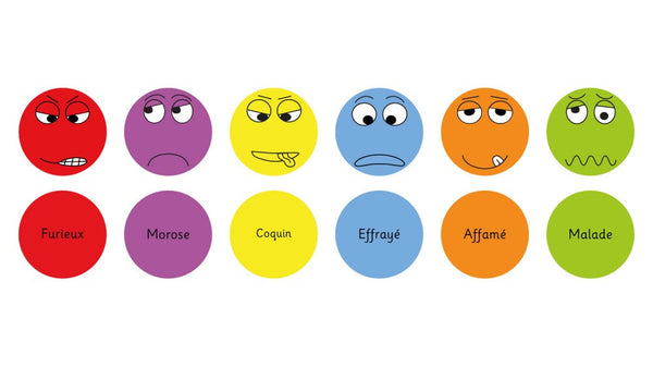 French Emotion cushions Pack 2 - Toy Giant