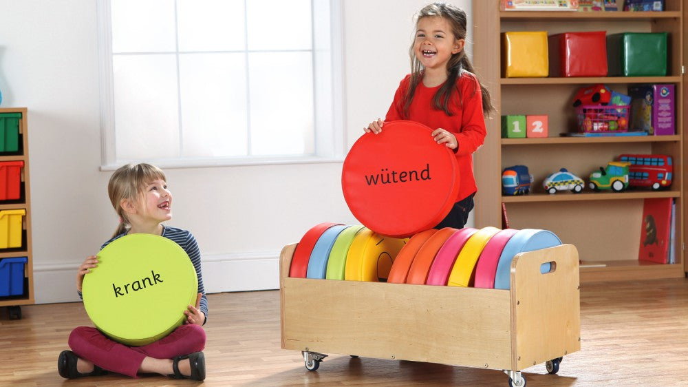German Emotions Cushions Tuf 2 trolley - Toy Giant