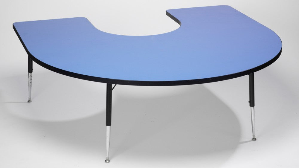 Tuf-Top Horseshoe height adjustable table