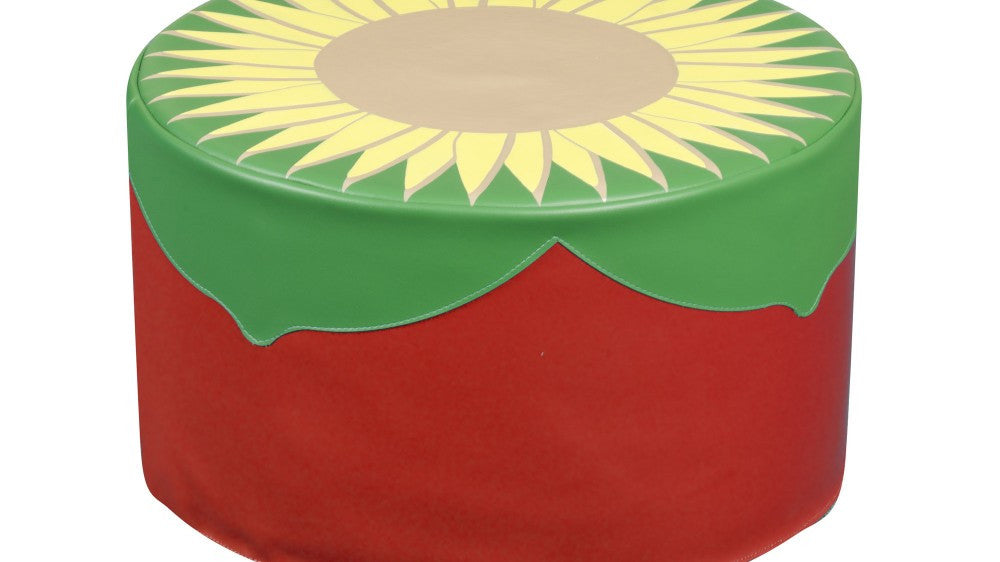 Back to Nature Sunflower Pouffe - Toy Giant