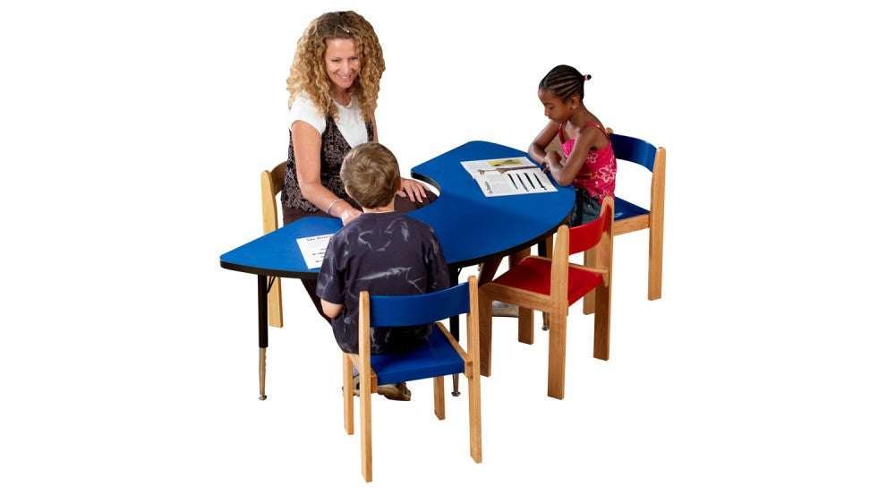 Tuf-top height adjustable ARC table BLUE - Toy Giant