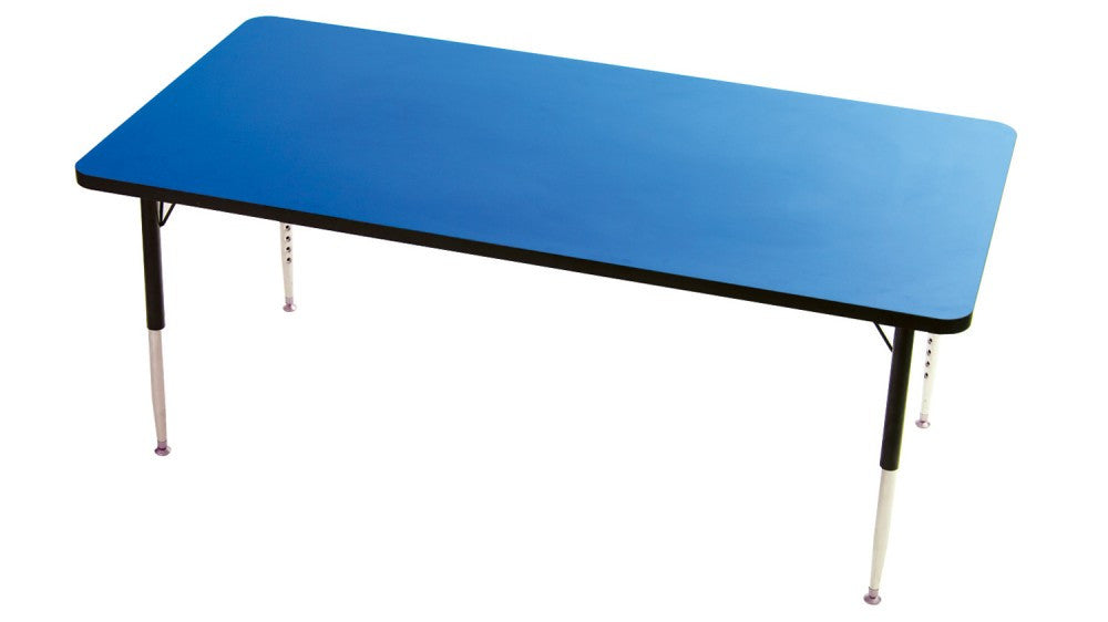 Tuf-Top Rectangular height adjustable table - Toy Giant