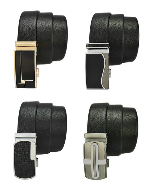 Men's Genuine Leather Ratchet Dress Belt (Free Worldwide Shipping)