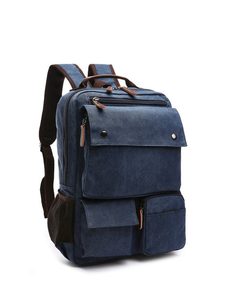 Unisex Canvas Backpack Vintage Casual Travel Bag (Free Worldwide Shipping)