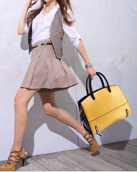 Fashion Genuine Leather Bag Women Handbag Shoulder Bag (Free Worldwide Shipping)