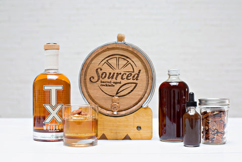 Sourced Barrel Aged Cocktails