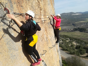 Via ferrata  Moclin
