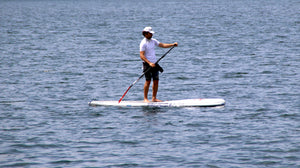 Paddle surf en la playa