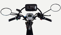 electric cargo bike handlebars