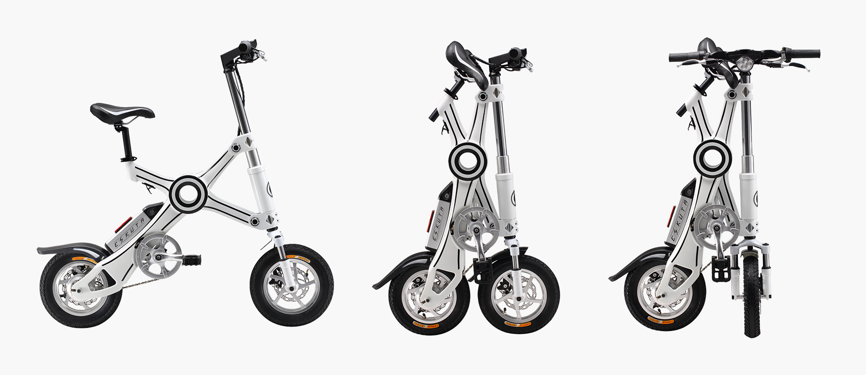 Folding Electric Bikes from Eskuta