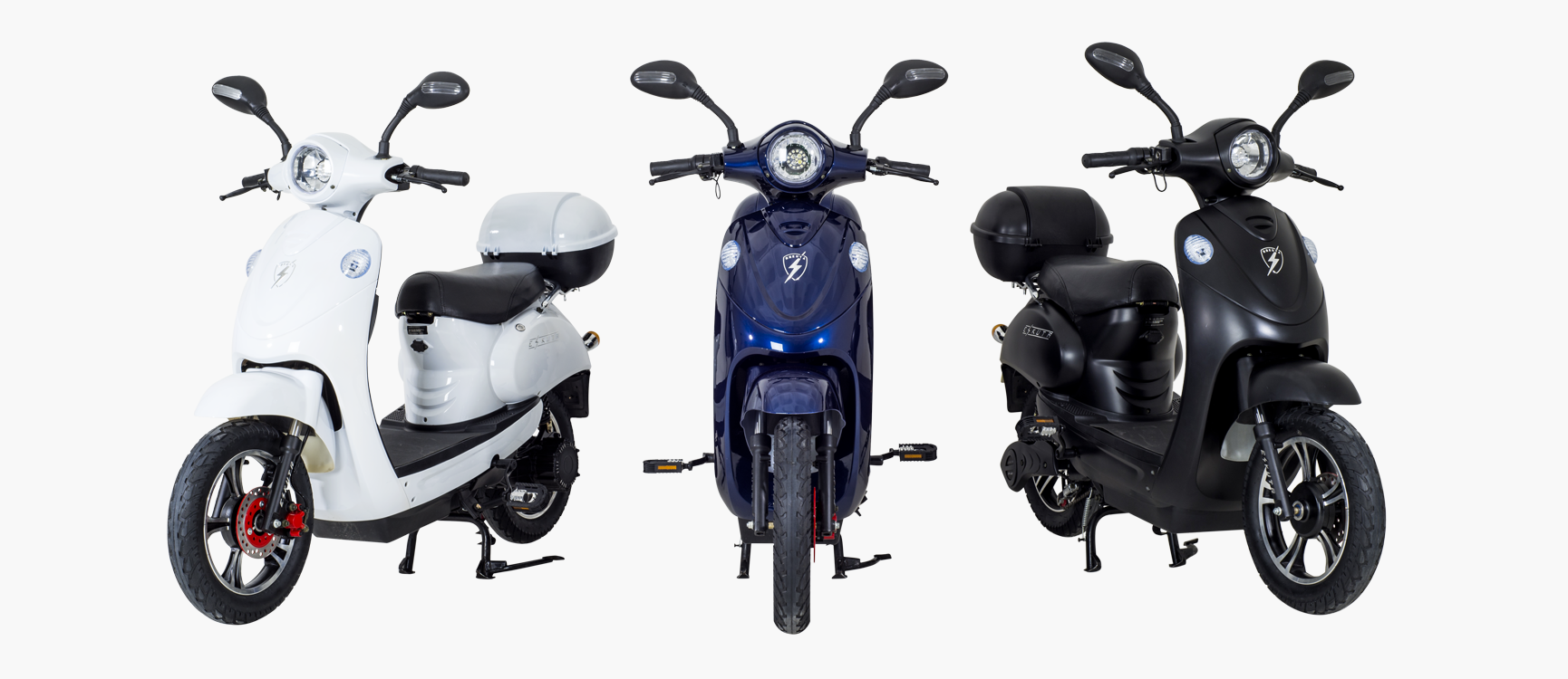 electric mopeds and delivery bikes