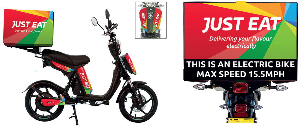 Just Eat E Scooter