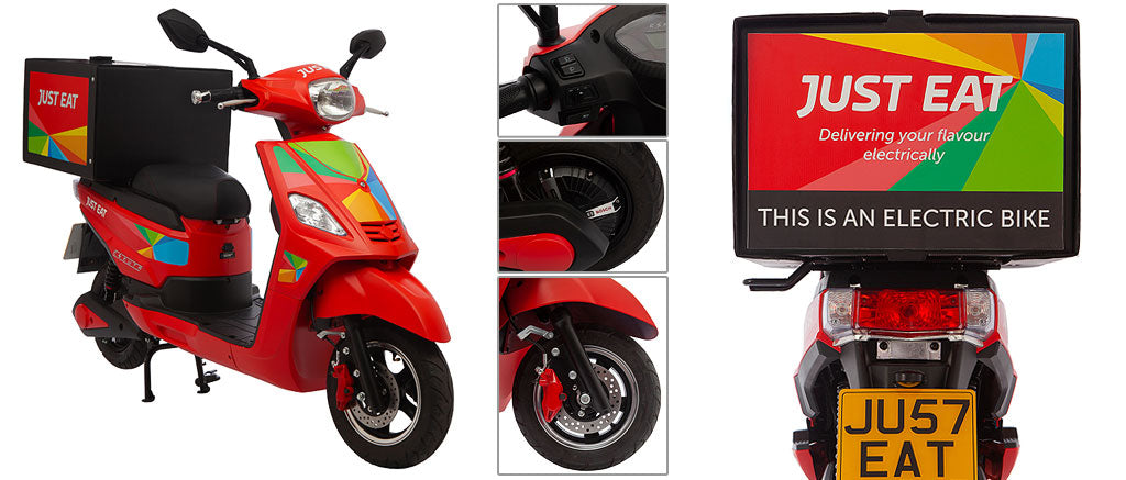 Just Eat SR-1200JE Electric Delivery Scooter