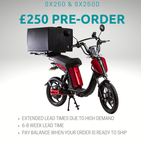 SX250d Electric Delivery Bike