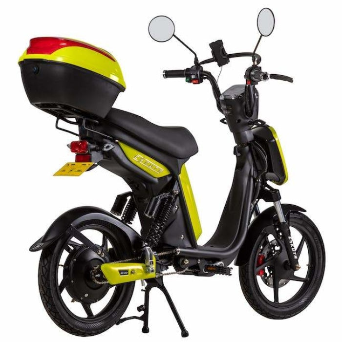 Eskuta Sx250 Eapc Electric Bike Acid Yellow Scooter