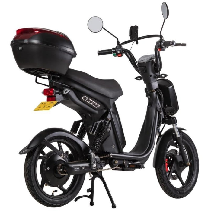 Eskuta Sx250 Eapc Electric Bike Black Scooter