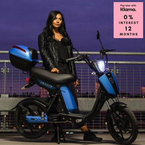 Eskuta Sx250 Eapc Electric Bike Blue Scooter