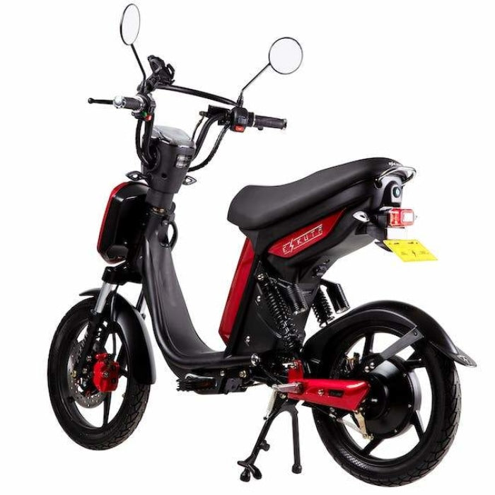 Eskuta Sx250 Eapc Electric Bike Cherry Red Scooter