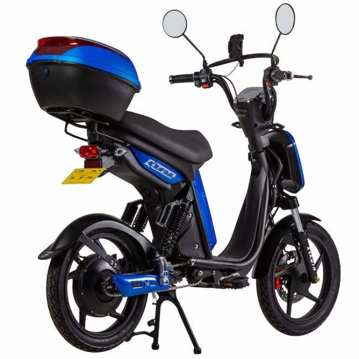 Eskuta Sx250 Eapc Electric Bike Gloss Blue Scooter